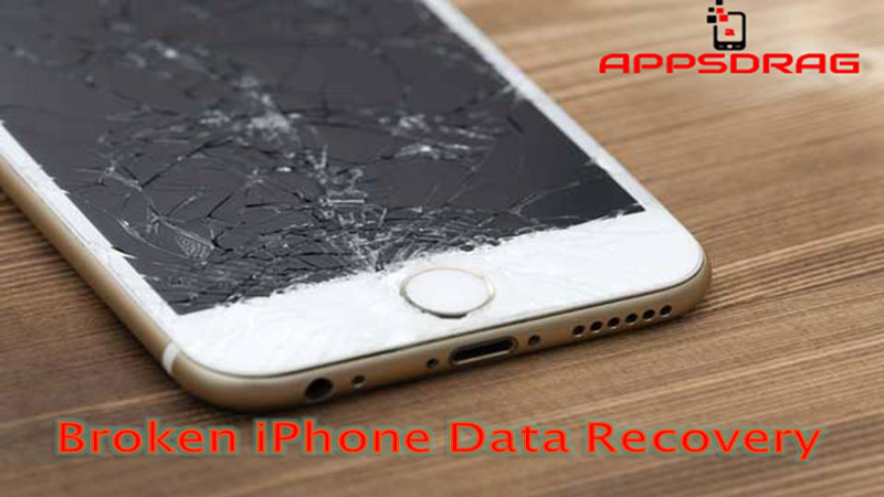 How can data recovery from broken iphone