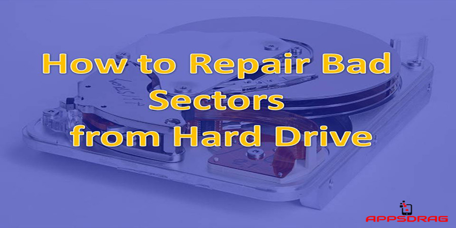 how fix bad sectors on hard drive
