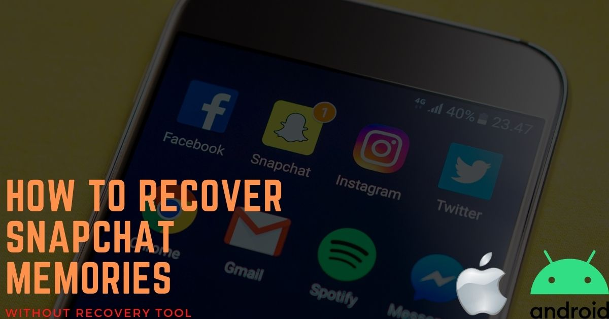 how to recover deleted snapchat memories